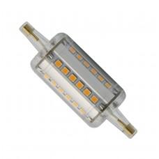 650 Lumen dimmbar 5W LED 360° Leuchtmittel  R7s-78mm warm-weiß 2700K